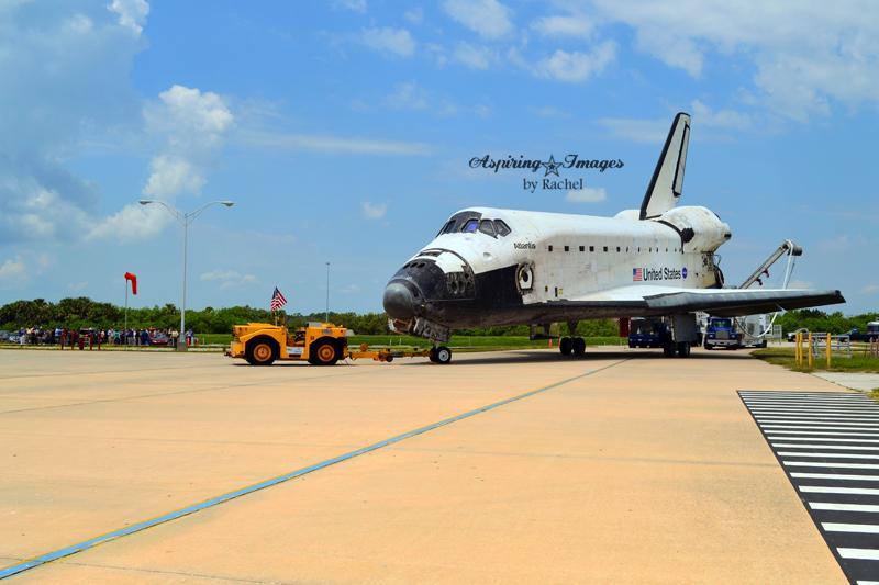 {PHOTOS} Kennedy Space Center - Shuttle Atlantis' Wheelstop