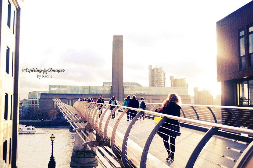 London, England - Millenium Bridge