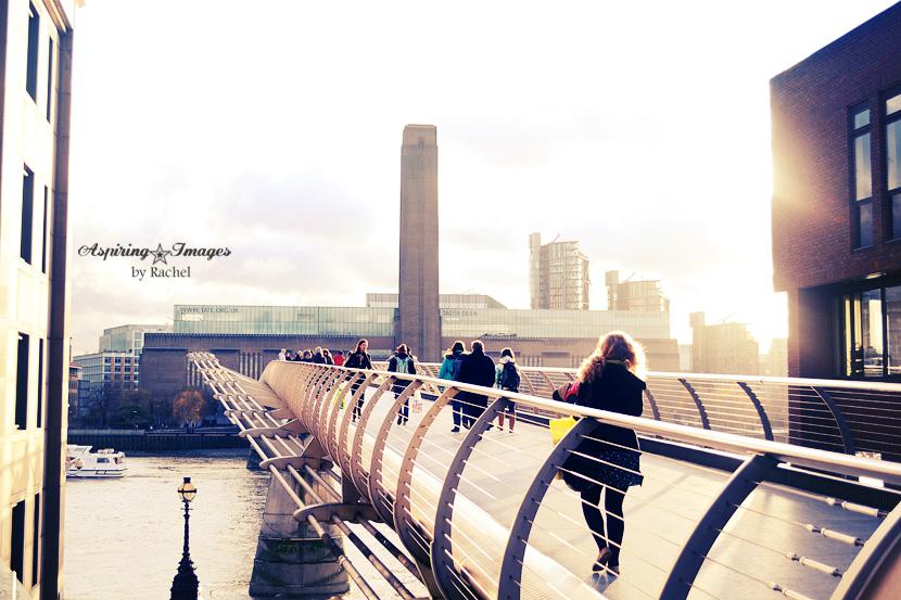 London, England - Millenium Bridge