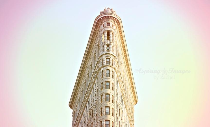 New York City, Flat Iron Building, NYC, New York Photo, Flat Iron Sunset