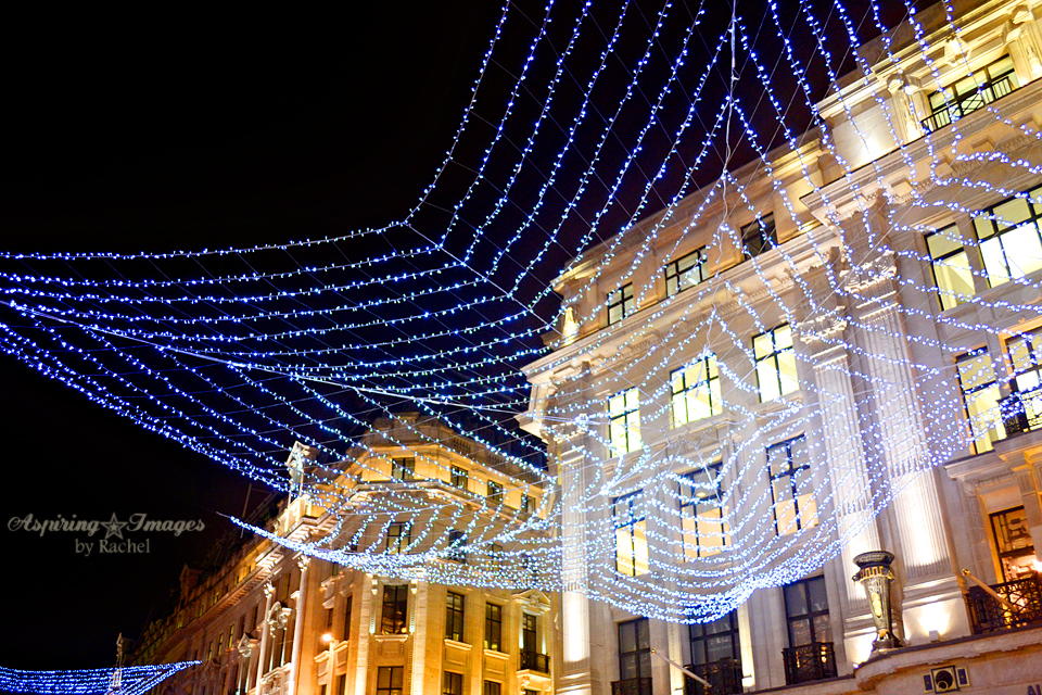 London Christmas Lights Star Net Lights via Aspiring Images by Rachel