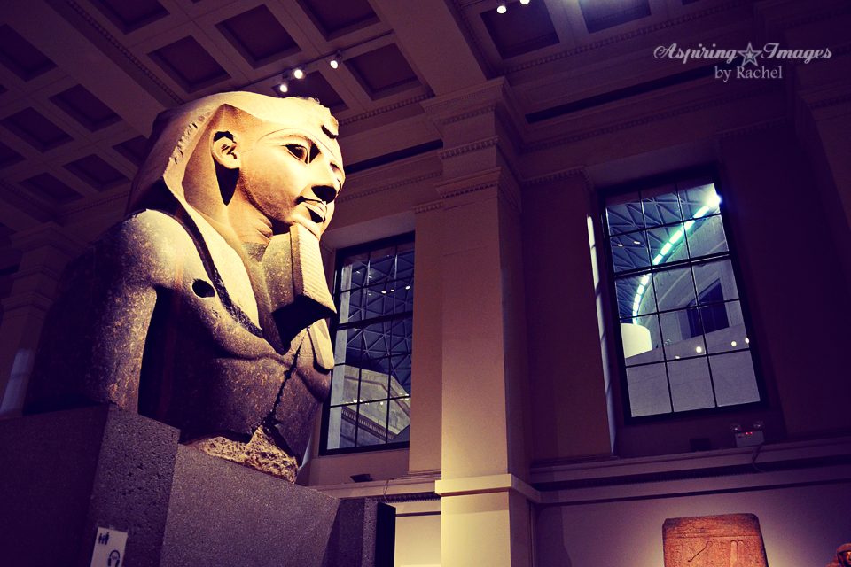 The Younger Memnon - Egyptian Sculpture Gallery in British Museum by Aspiring Images by Rachel