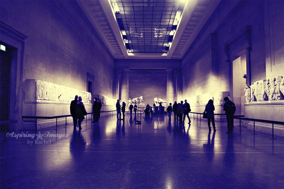 Parthenon Marbles aka Elgin Marbles in British Museum by Aspiring Images by Rachel
