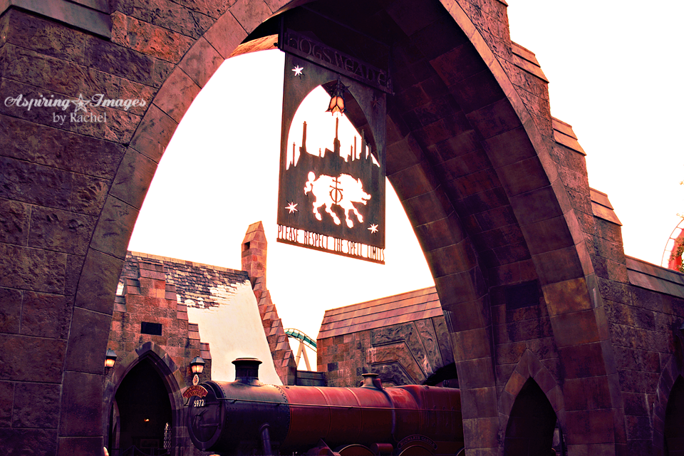 Islands of Adventure Harry Potter - Hogsmeade Entrance - Spell Limits Sign by Aspiring Images by Rachel