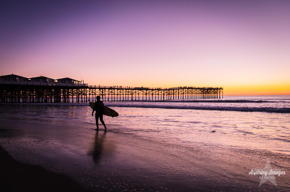 AspiringImagesbyRachel-California-SanDiego-Pier-PurpleSunset