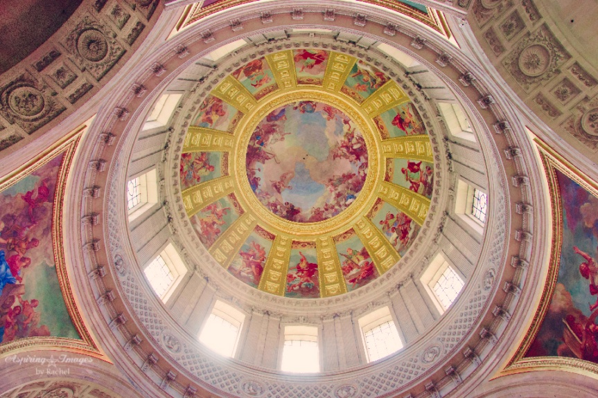 Dome over Napoleon's Tomb - Paris, France