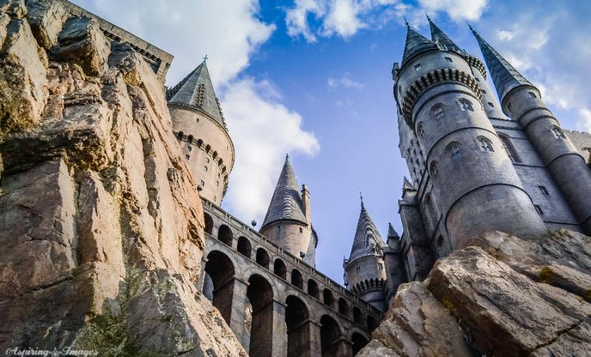 Universal Studios - Harry Potter, Hogwarts Castle